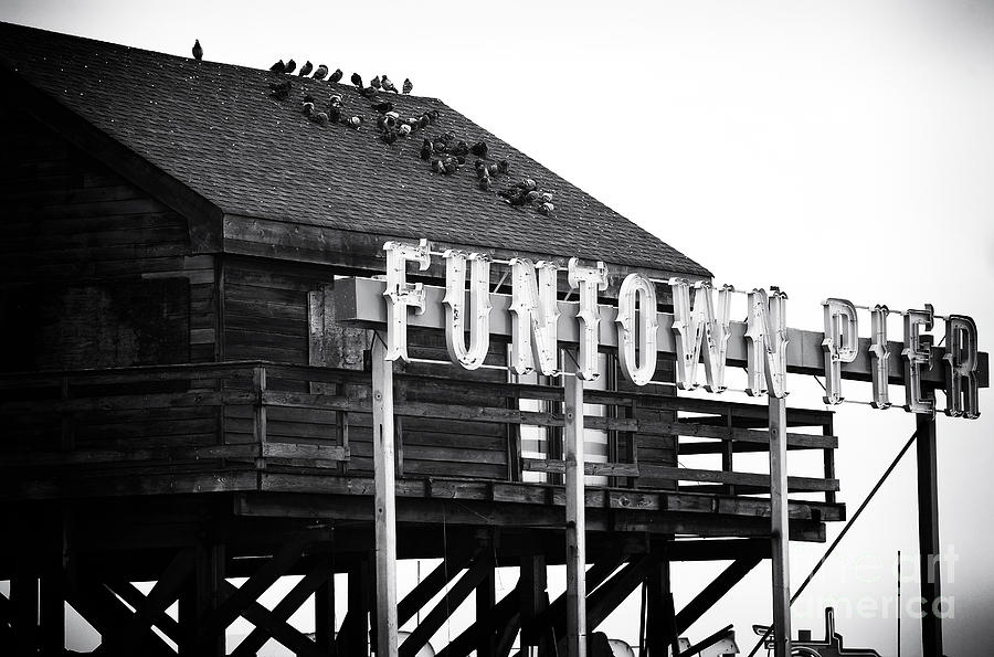 Funtown Pier Photograph