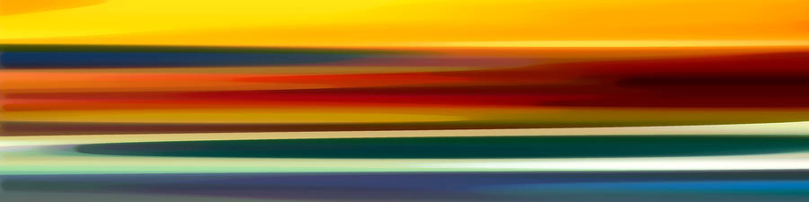 Fury Seascape Panoramic 2 Painting