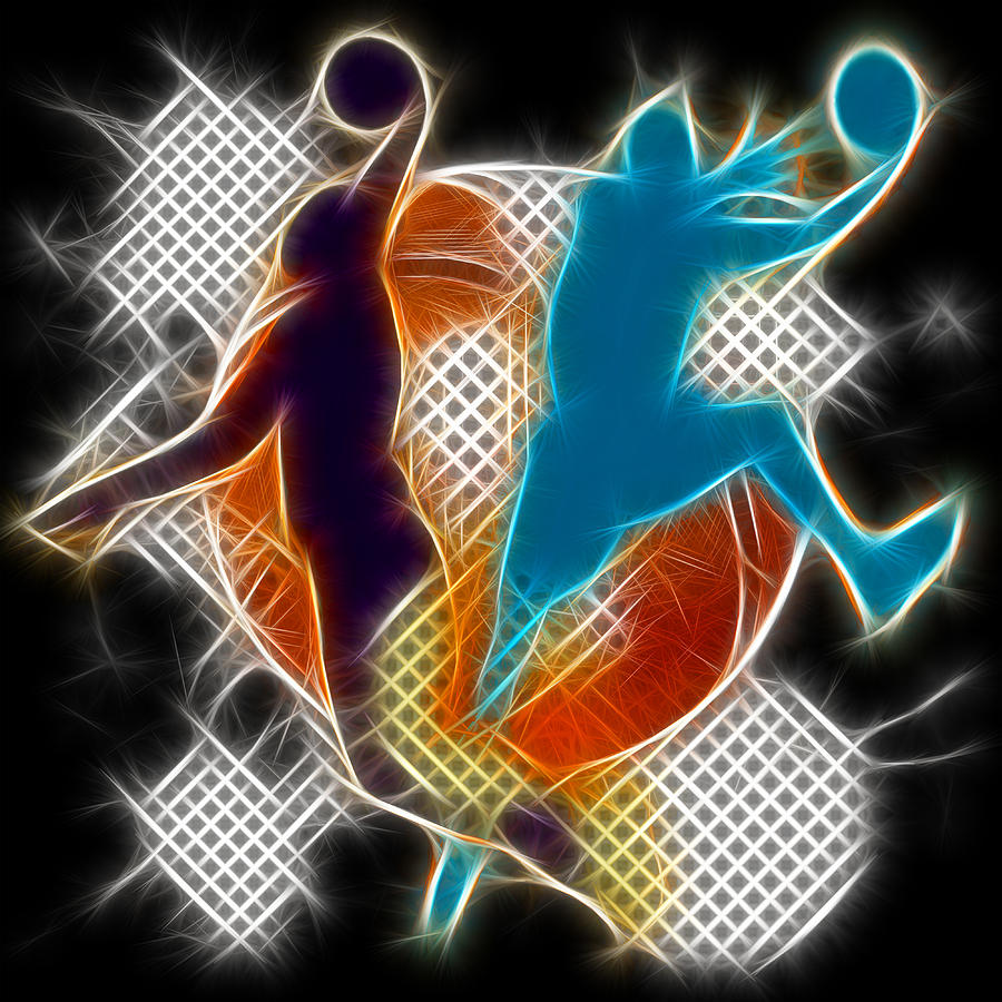 Galactic Dunk 3 Digital Art