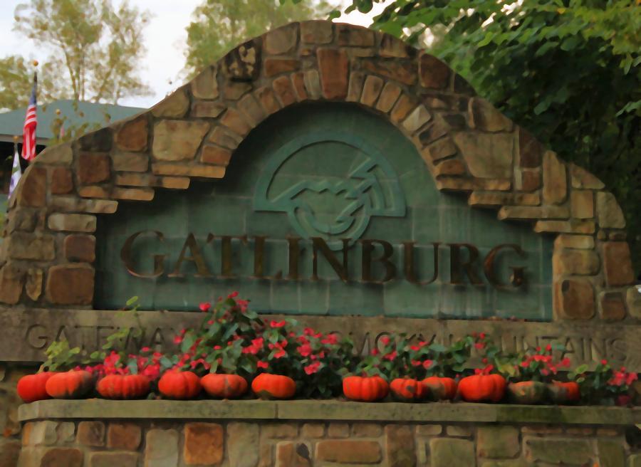 Galinburg In Autumn Photograph