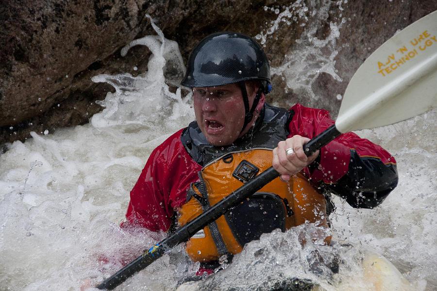 Gallatin Kayaker  Photograph