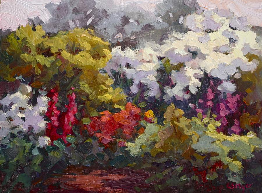 Gamble Gardens Painting