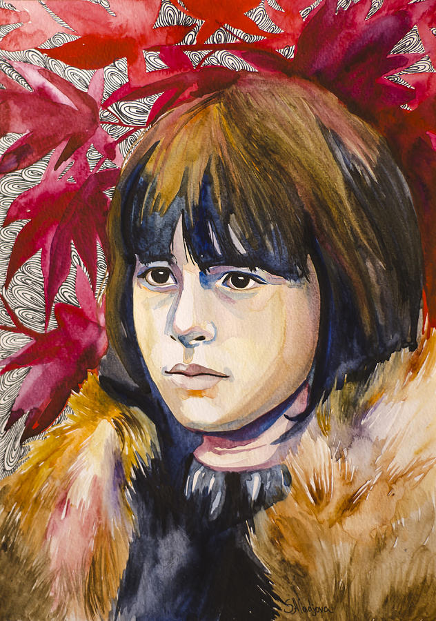 Game Of Thrones Bran Stark Painting  - Game Of Thrones Bran Stark Fine Art Print
