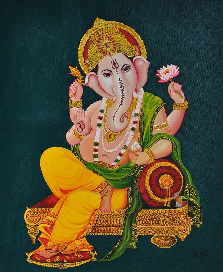 Ganapathi Painting