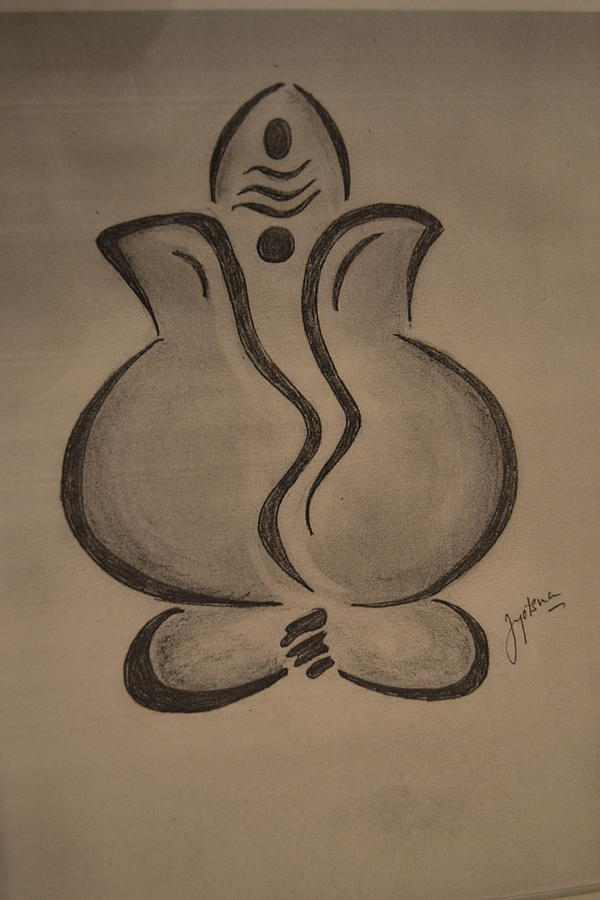 Ganesh Ji Drawing | Joy Studio Design Gallery - Best Design