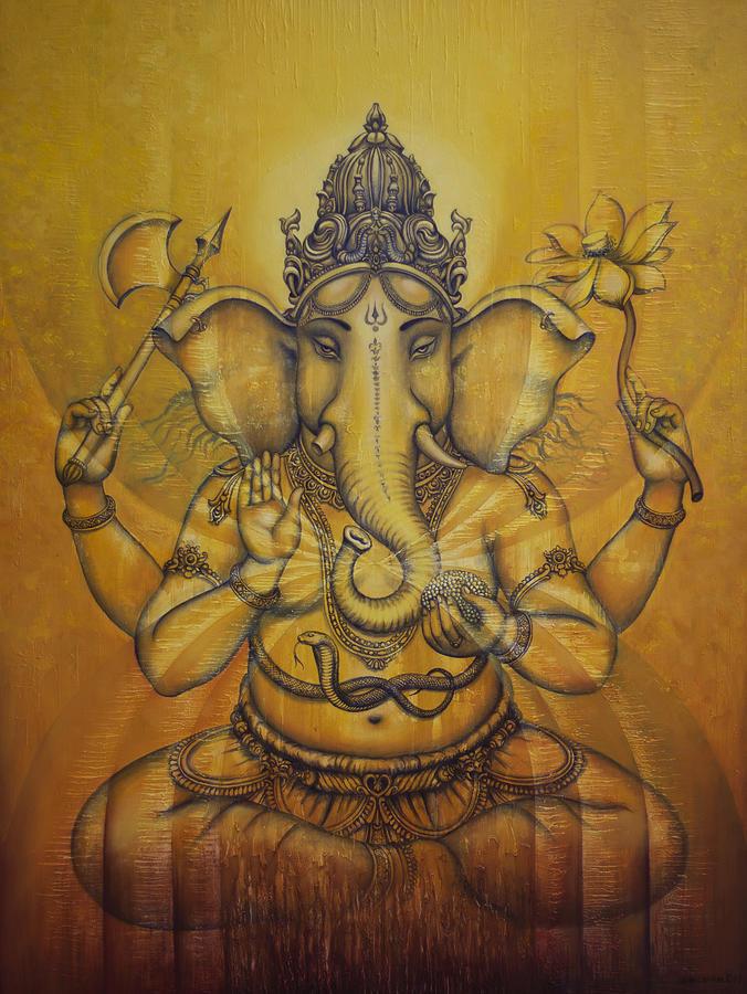 Ganesha Darshan Painting