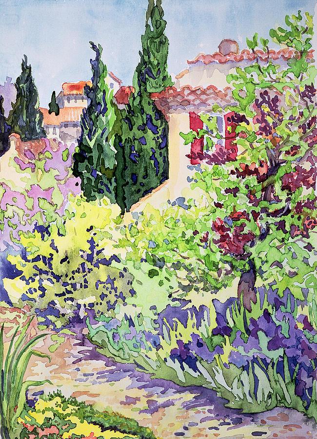 Garden At Vaison Painting