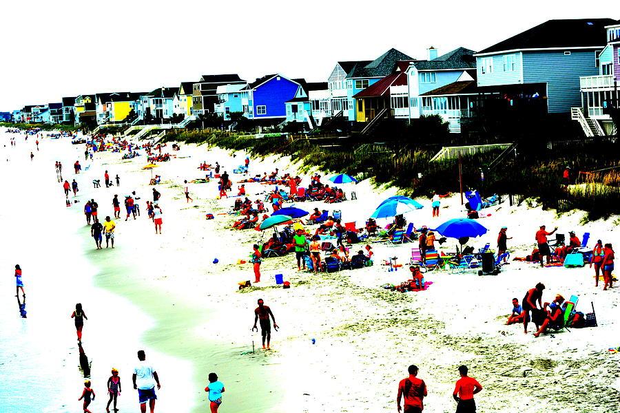 Garden City Beach Abstract 1  Photograph