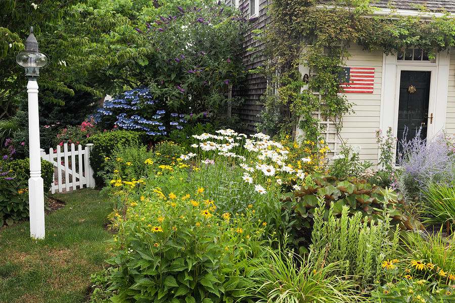 Garden Cottage Photograph  - Garden Cottage Fine Art Print