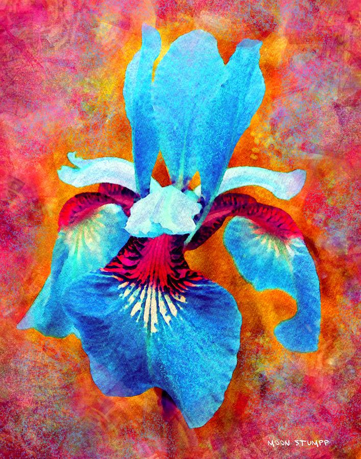 Flower Painting - Garden Fiesta by Moon Stumpp