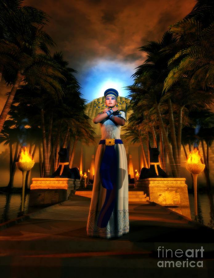Garden Of Nefertiti Digital Art by Gabriel Forgottenangel