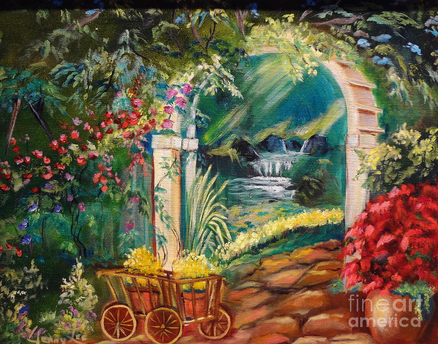 Garden Of Serenity Beyond Painting