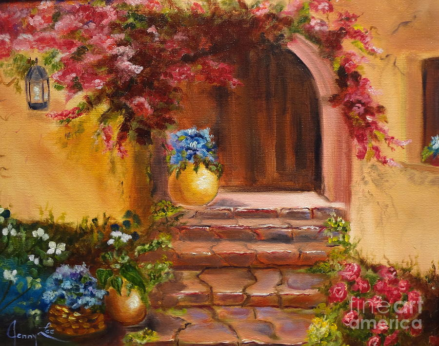 Garden Of Serenity Painting
