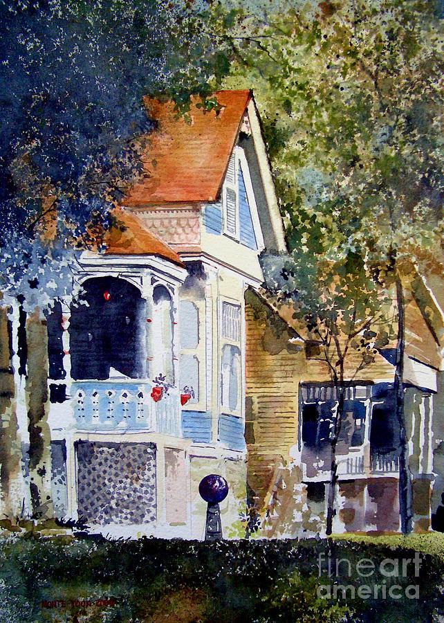 Garden Orb Painting