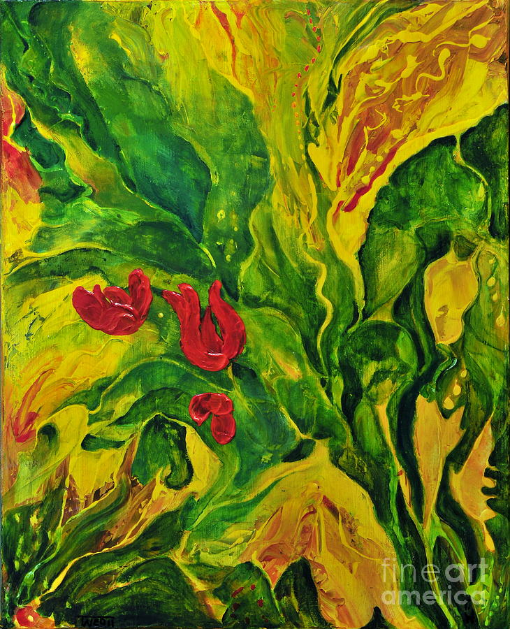 Garden Series No.2 Painting