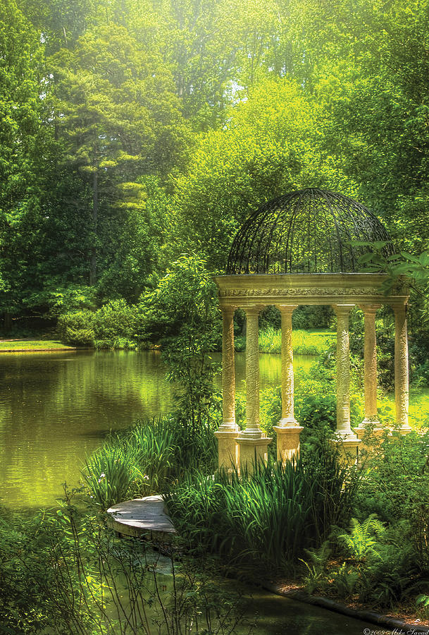 Garden - The Temple Of Love Photograph  - Garden - The Temple Of Love Fine Art Print