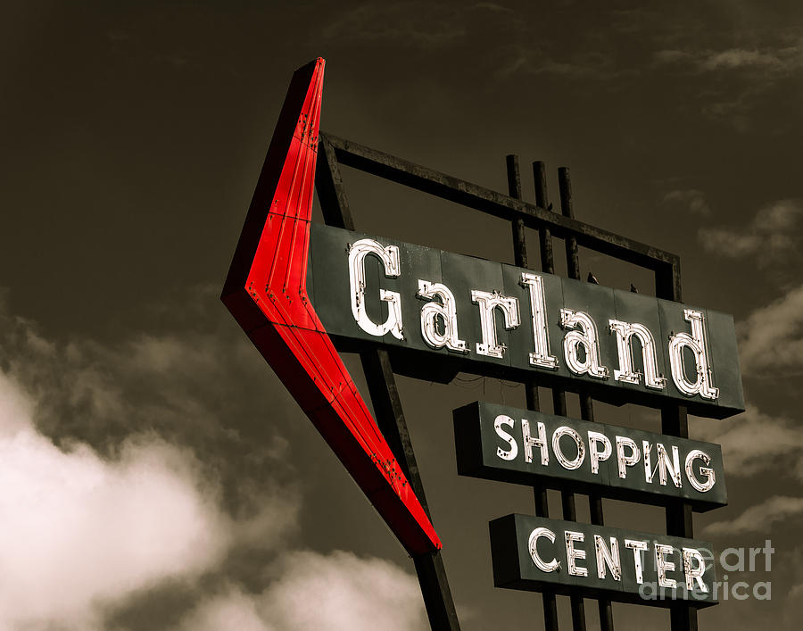 Garland Texas Shopping Photograph