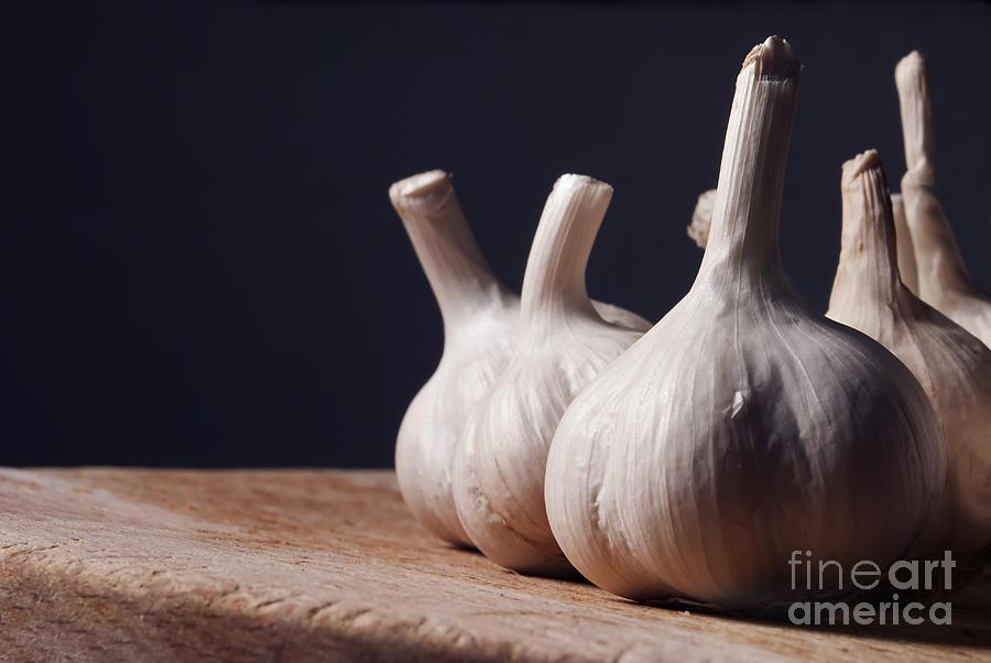 Garlic Pyrography