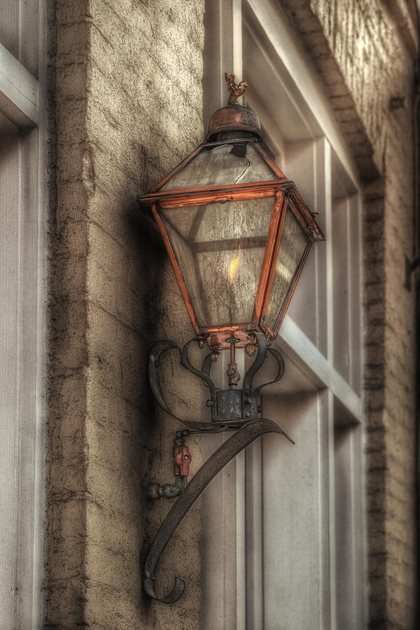 Gas Light Photograph  - Gas Light Fine Art Print