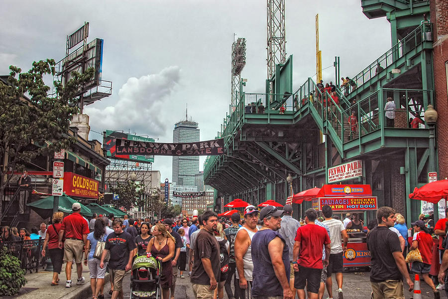Gate E - Fenway Park Boston Photograph