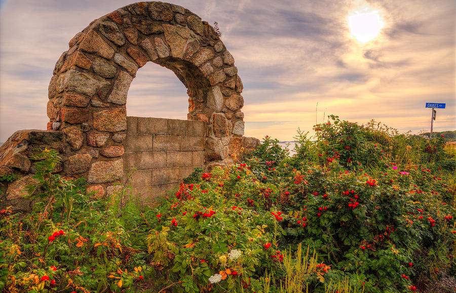 Wind Photograph - Gate To Nowhere  by Eti Reid