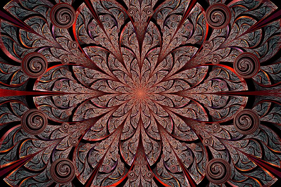 Gates Of Fire Digital Art