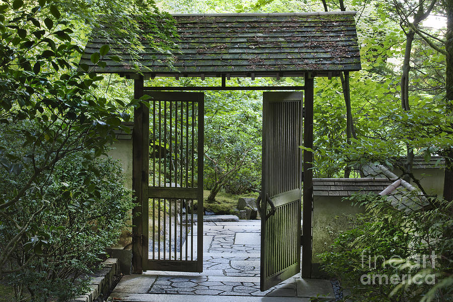 Gates Of Tranquility Photograph  - Gates Of Tranquility Fine Art Print