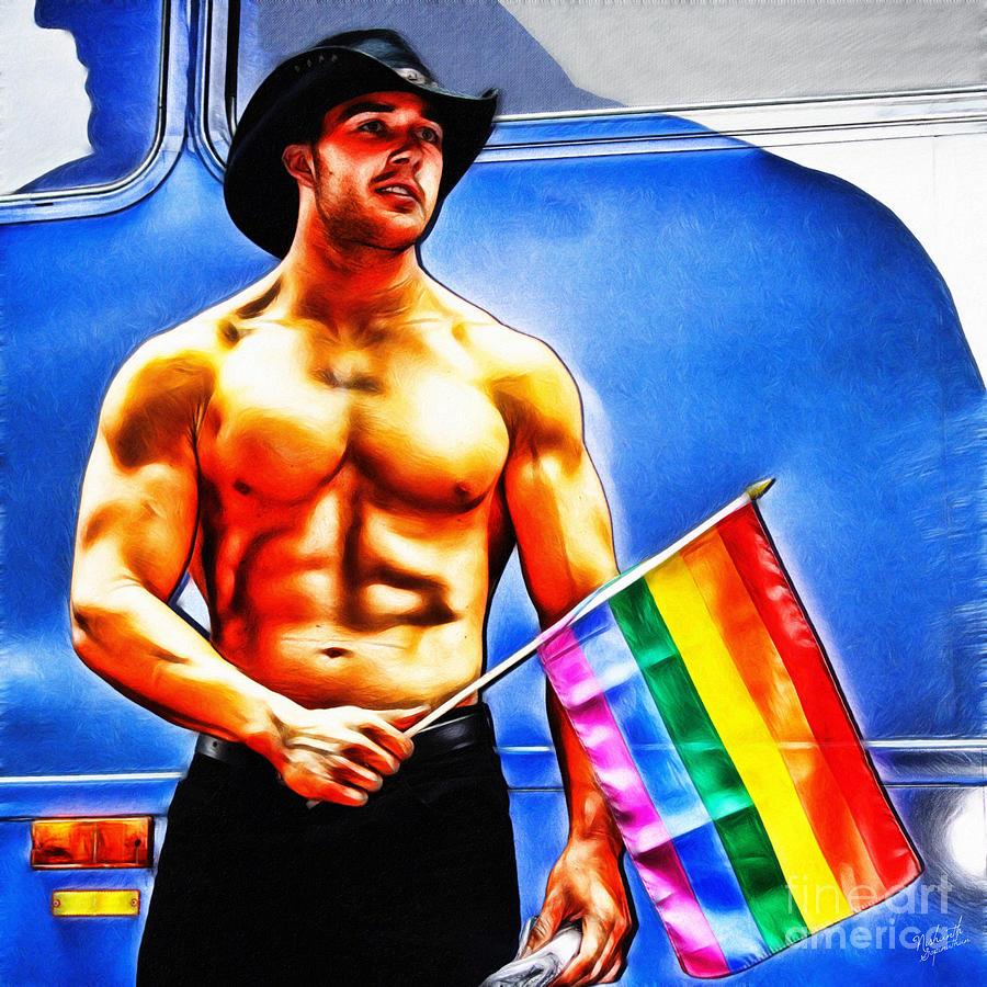 Gay Pride Digital Art By Nishanth Gopinathan