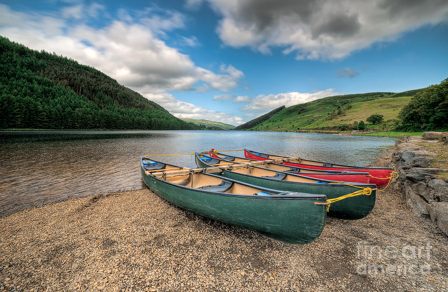 Betws Y Coed Photograph - Geirionydd Lake by Adrian Evans