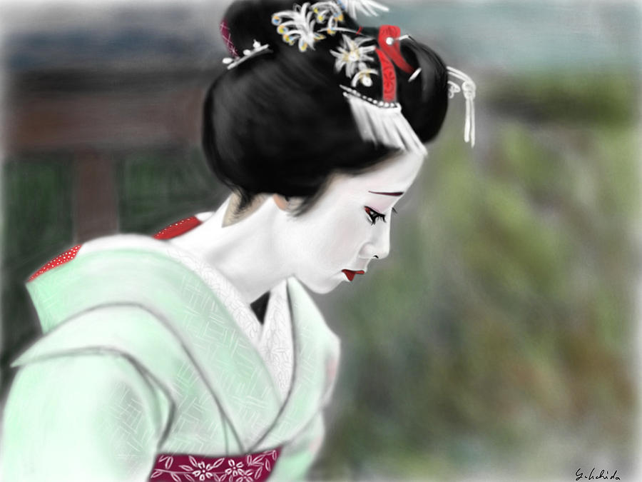 Geisha No.49 Painting