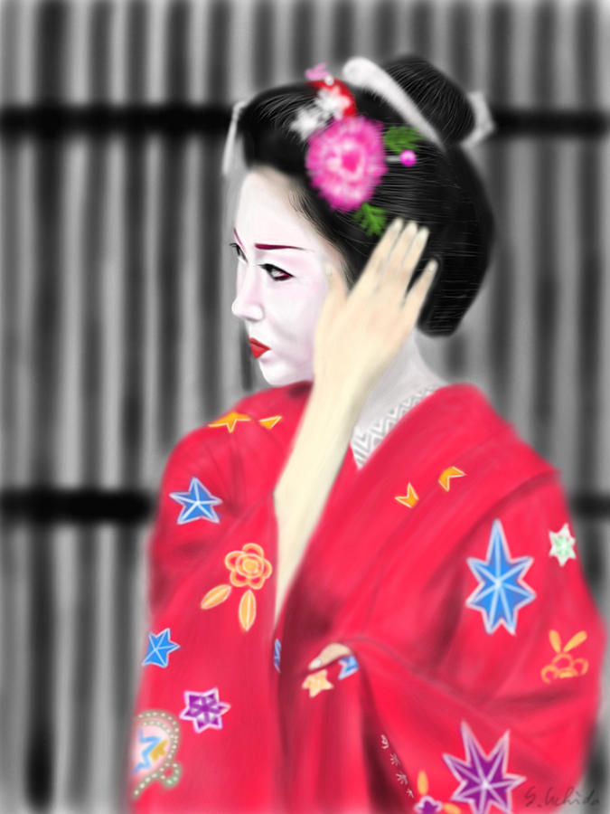 Geisha No.51 Painting