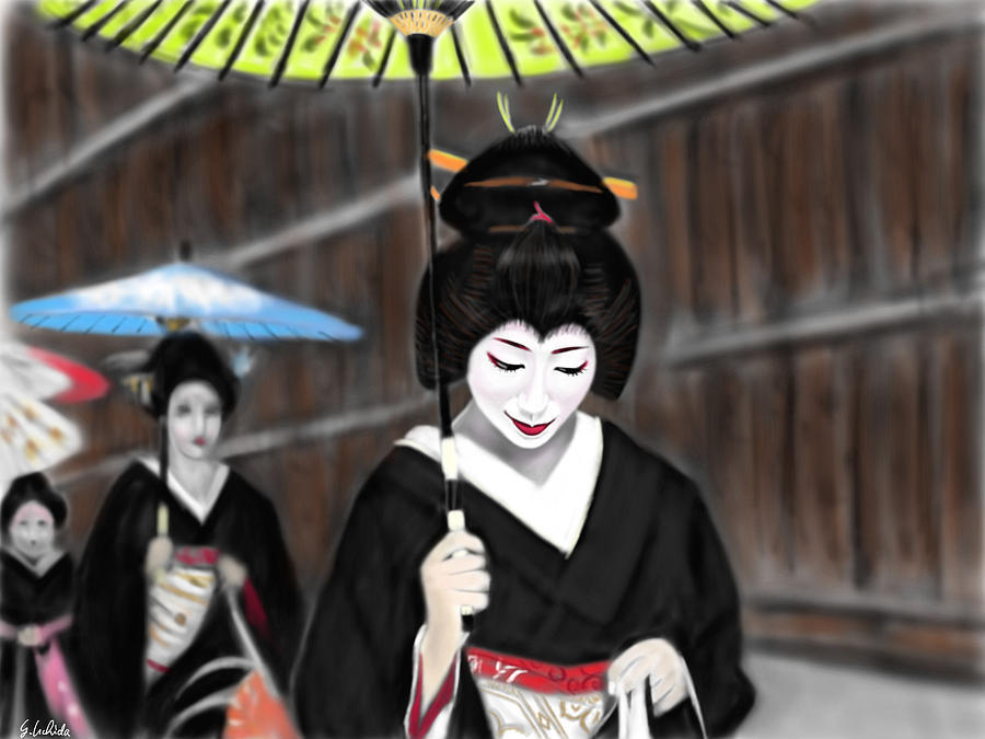 Geisha No.54 Painting