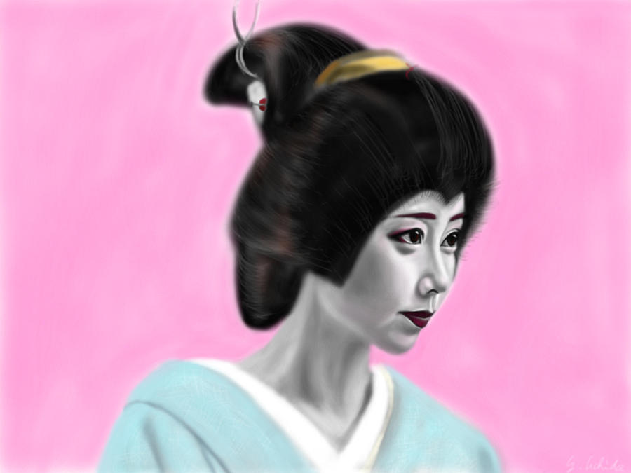 Geisha No.55 Painting