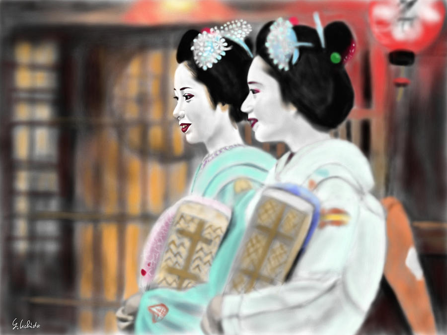 Geisha No.56 Painting