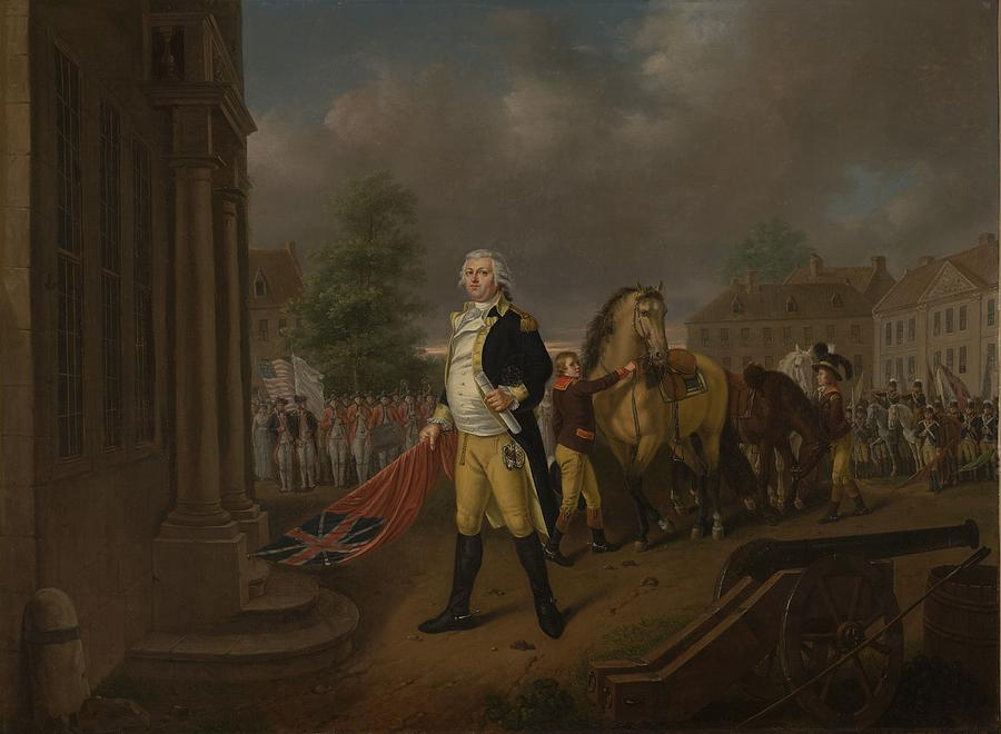 General Humphreys Delivering Painting