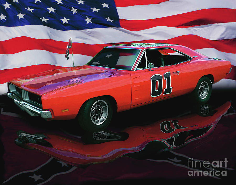 General Lee Photograph  - General Lee Fine Art Print