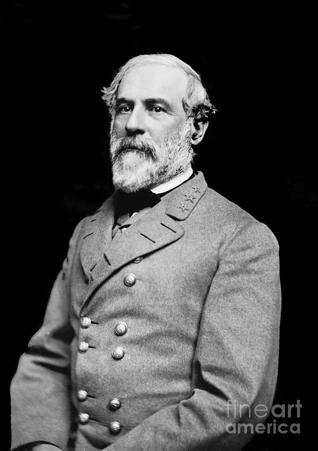 General Robert E Lee - Csa Photograph  - General Robert E Lee - Csa Fine Art Print