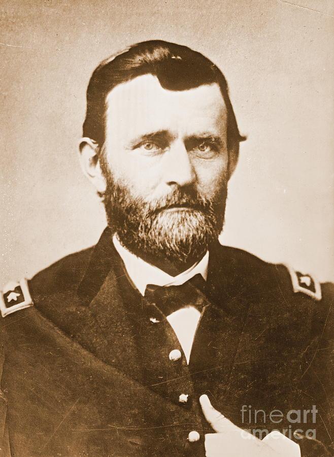 General Ulysses Grant C1865 Photograph - General Ulysses Grant C1865 by Padre Art