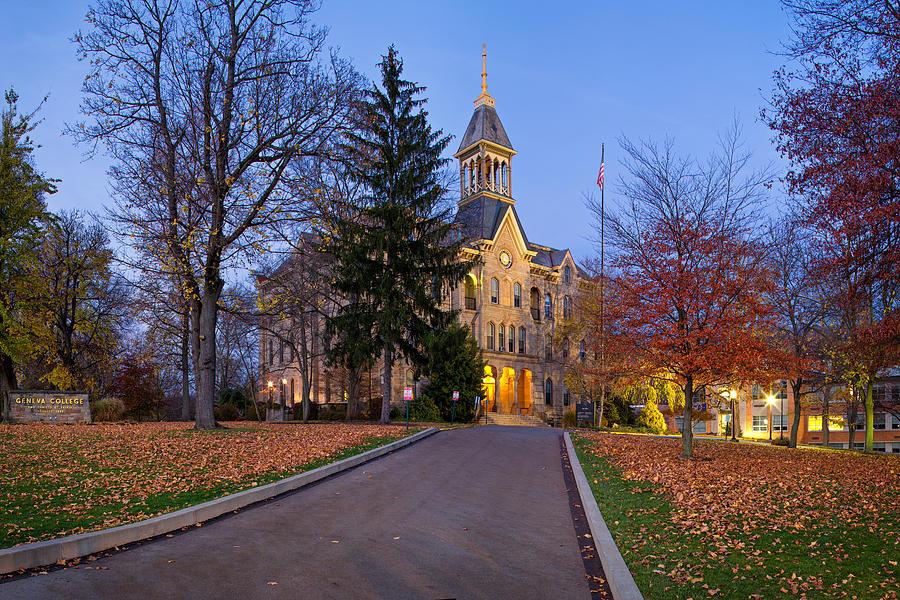 Geneva  Photograph - Geneva College by Emmanuel Panagiotakis
