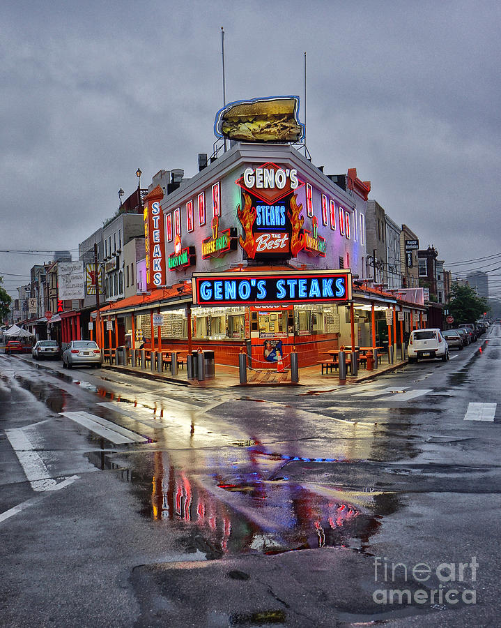 Geno's Photograph - Genos 7 by Jack Paolini
