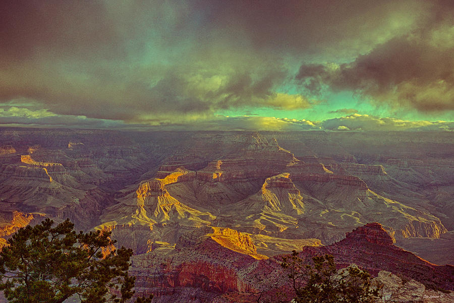 Gentle Sunrise Over The Canyon Photograph