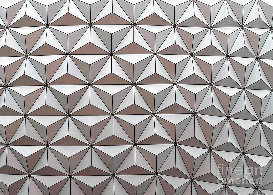 Abstract Photograph - Geodesic by Sabrina L Ryan