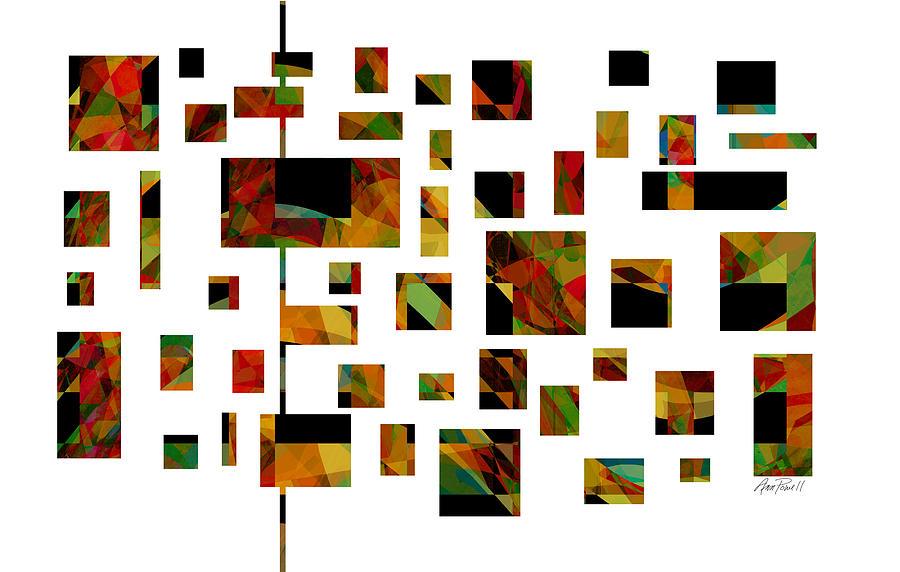 Abstract Digital Art - Geometric Design - Abstract - Art by Ann Powell