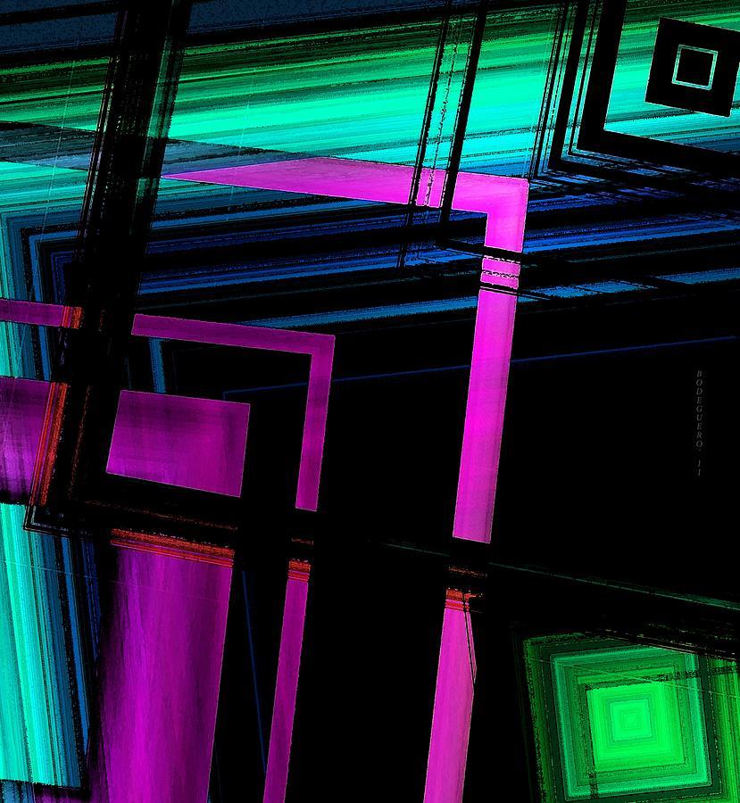 Geometric Style Digital Art