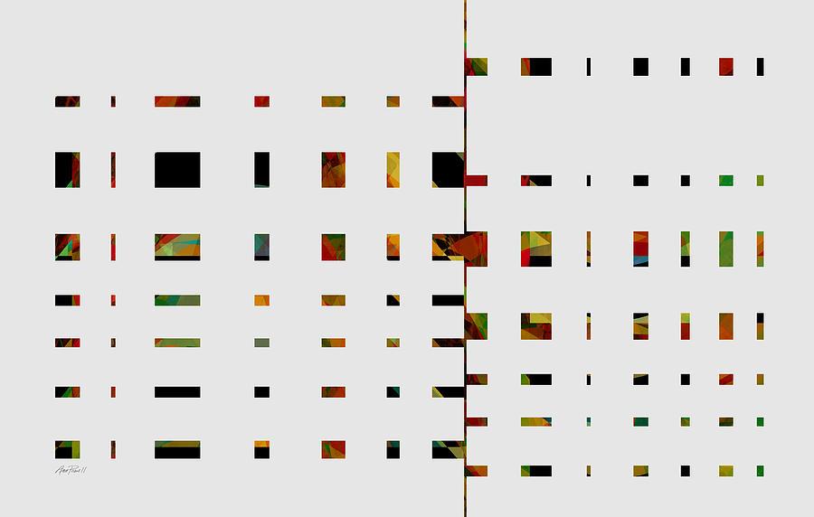 Abstract Digital Art - Geometrics -abstract -  Art by Ann Powell