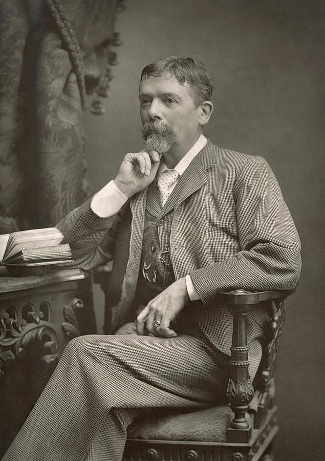 George Du Maurier Photograph