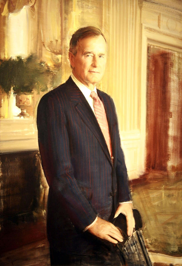 George H. W. Bush Photograph  - George H. W. Bush Fine Art Print