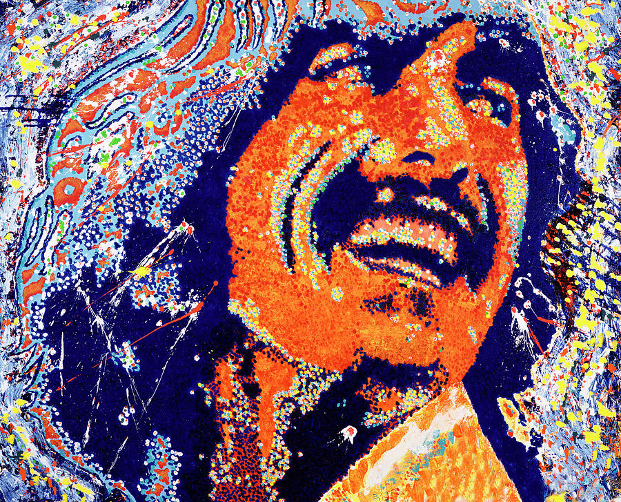 George Harrison Painting - George Harrison by Barry Novis
