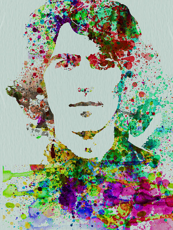 George Harrison Painting  - George Harrison Fine Art Print