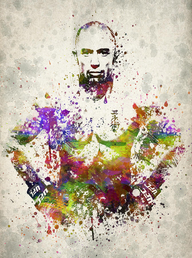 Georges St-pierre Drawing - Georges St-pierre by Aged Pixel